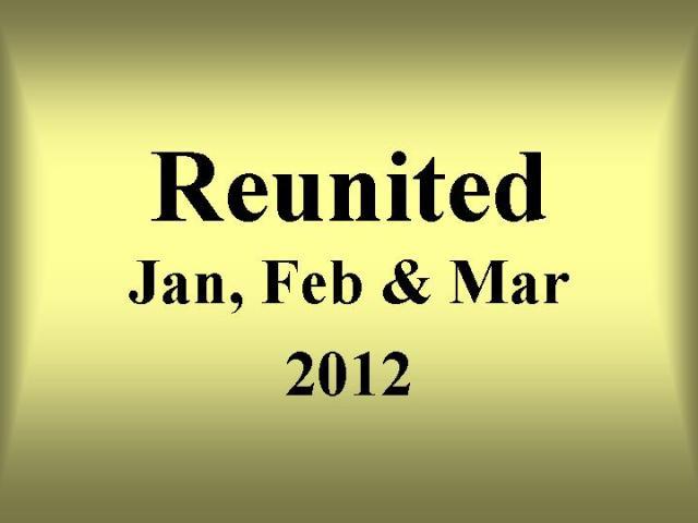 Jan Feb March 2012