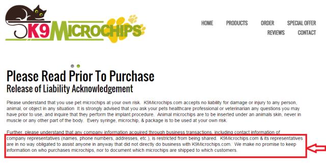 K9 Microchips