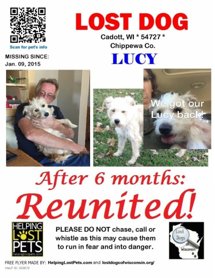 Lucy reunited